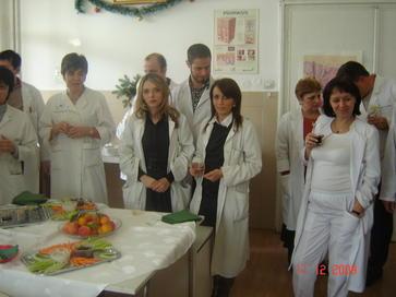 Предколедно парти в ККВБ Александровска 21
